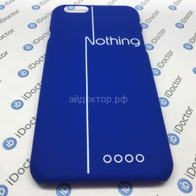 Кейс пластик - для Apple iPhone 6 (B002) (blue)