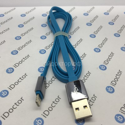 Кабель USB (Apple lightning) Remax King Kong (100 см) (blue)