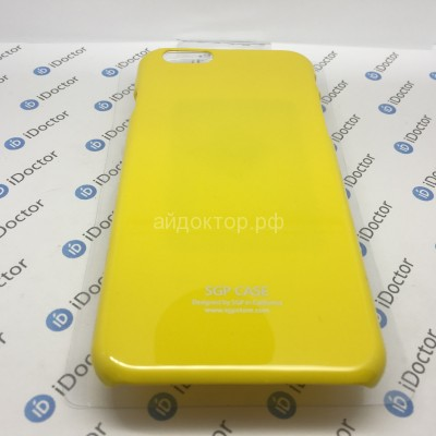 Кейс пластик SGP Ultra Slider для Apple iPhone 6 (yellow)